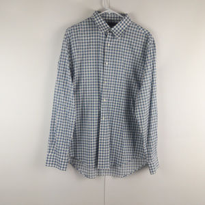 Perry Ellis Shirts - Perry Ellis City Fit Mens Checkered Dress Shirt XL
